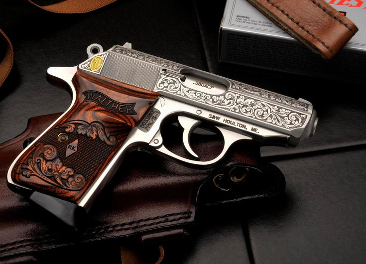 Walther .380 ACP limited edition.  I own one similar to this. Too pretty to shoot. Maybe one day Barrett and i will take it to the range