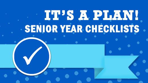 Get students and parents through the senior year - monthly checklists and communication tools for educators, parents and students! It's A Plan! Senior Year Checklists   Oregon GEAR UP
