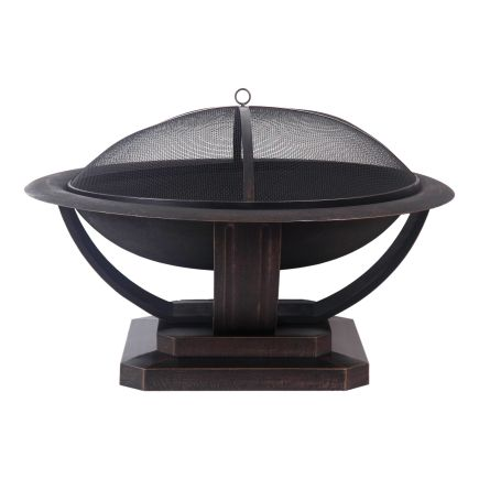Living Accents Cast Iron Fire Pit in Brown - Ace Hardware ... on Propane Fire Pit Ace Hardware id=29327