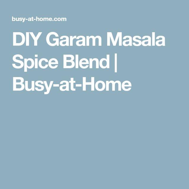 DIY Garam Masala Spice Blend   Busy-at-Home