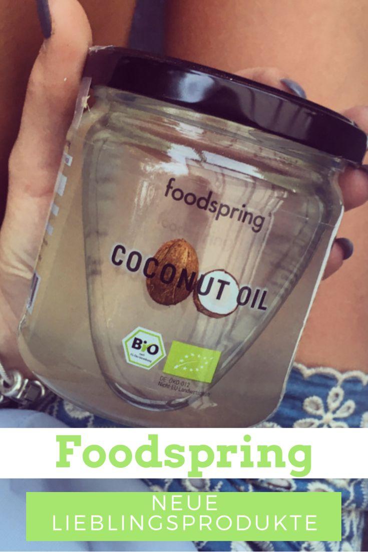 Foodspring meine neue Lieblingsprodukte und meine Erfahrungen zu den Produkten von Foodspring