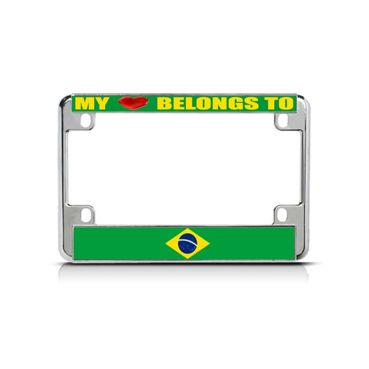 46 best Motorcycle License Plate Frames images on Pinterest | Biking ...