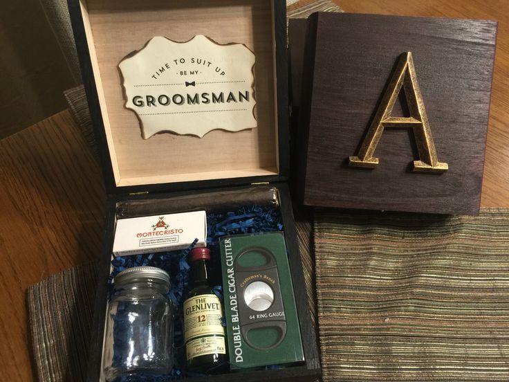 Groomsmen Boxes DIY