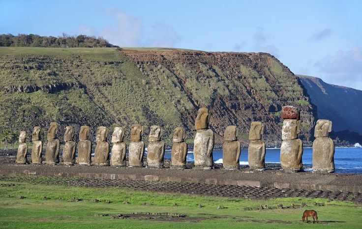 Easter Island in Isla de Pascua, Chile