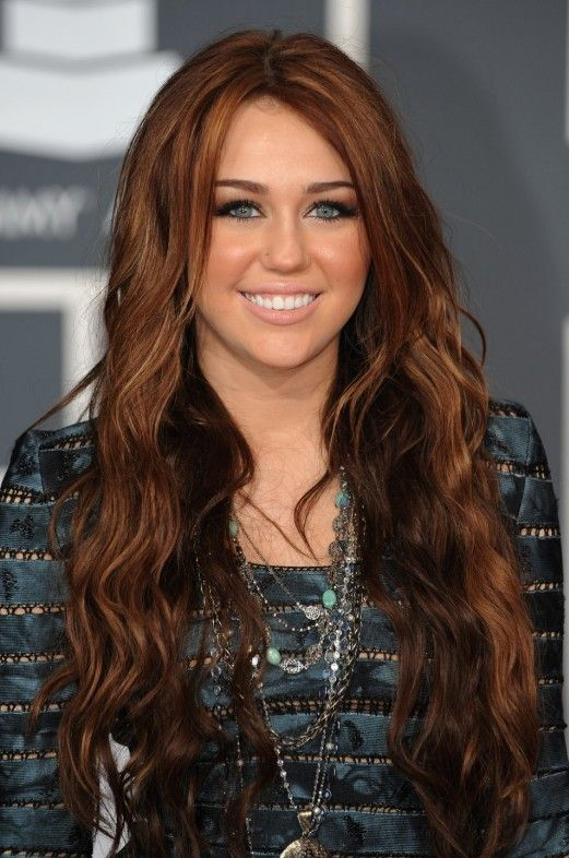 Miley Cyrus Long Red Hairstyle: 2012 – 2013 Hair Color Trends | Hairstyles Weekly