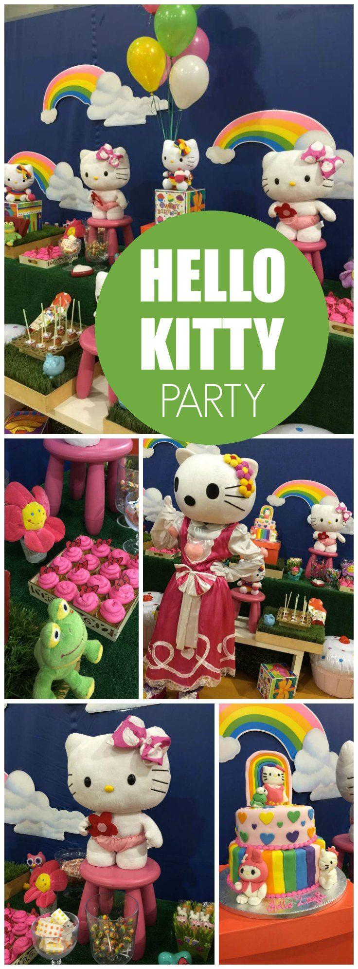 Scrapbook ideas hello kitty - Hello Kitty Birthday Hello Zayli Land 1st Birthday