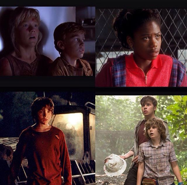 Kids from the Jurassic series