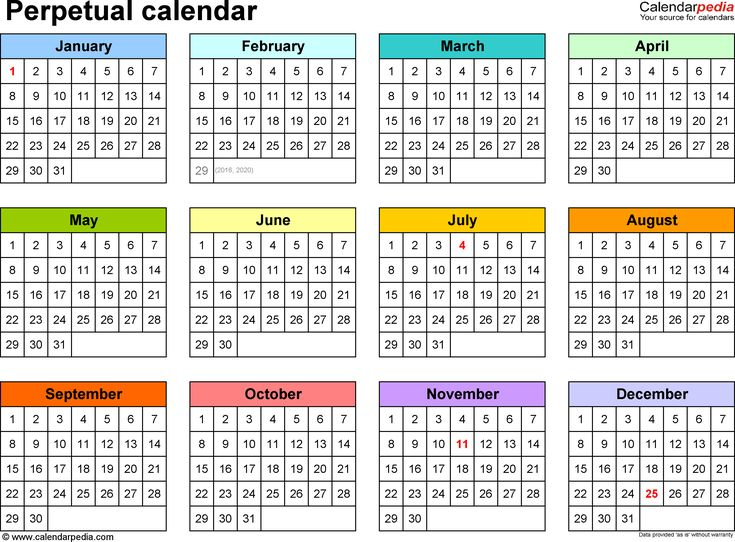 8 best Excel Made Easy images on Pinterest Template, Calendars - perpetual calendar template
