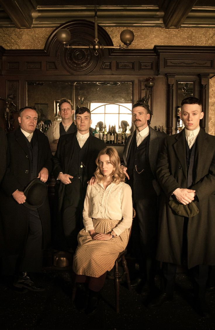 all the shelbys PEAKY BLINDERS