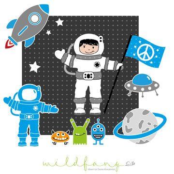 Plotterdatei - Astronaut Andy - Plotterdateien bei Makerist