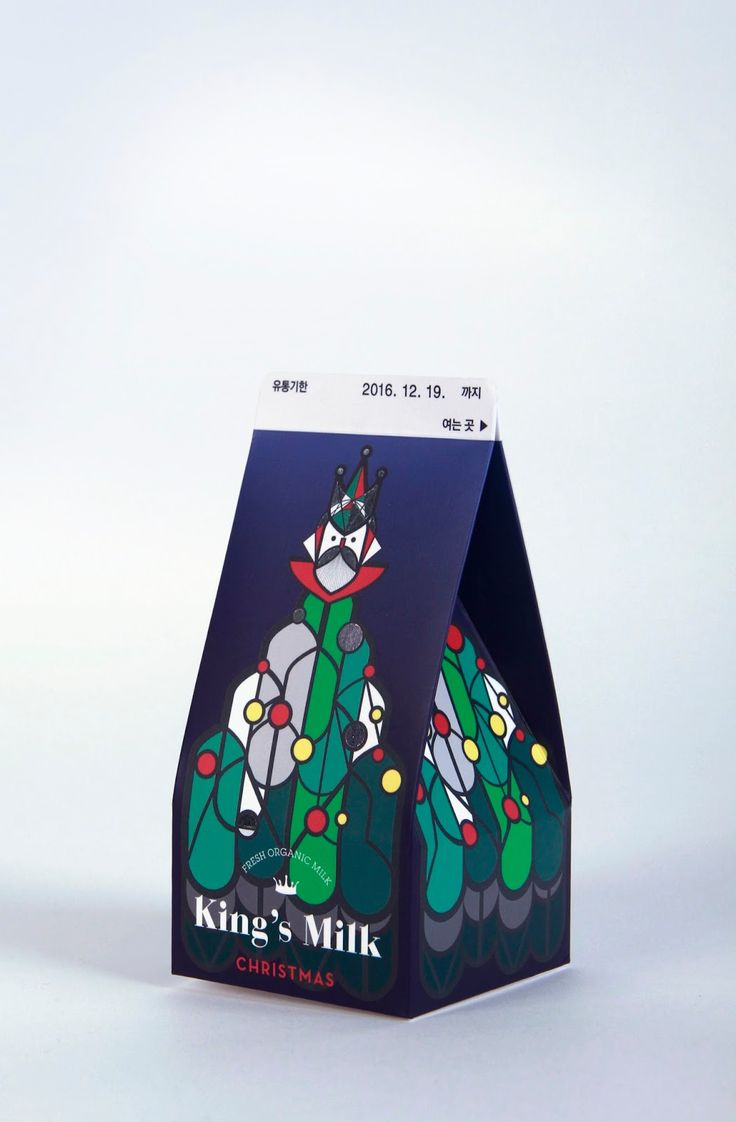 King's Milk (Student Project) on Packaging of the World - Creative Package Design Gallery