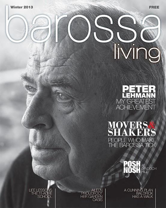 Jason Hamer - Creative Director for Barossa Living Magazine Winter 2013.