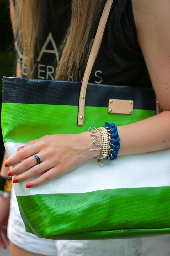 summer arm candy + stripes