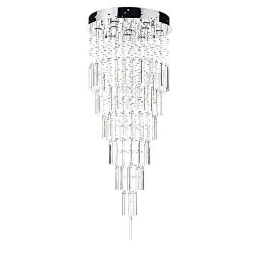 Mejores 10 imgenes de crystal light pendants en pinterest luces tokyo 10 light polished chrome crystal ceiling light pendant aloadofball Image collections