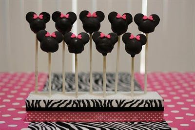 Minne Mouse: Mice, Cakes Pop, Mouse Birthday, Birthday Parties, Minis Mouse, Cake Pop, Parties Ideas, Minnie Mouse Cakes, Cake Pops