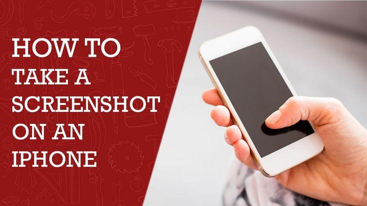 How to Take a Screenshot on Your iPhone| iPad | iPod |  DIY Tech Tips
