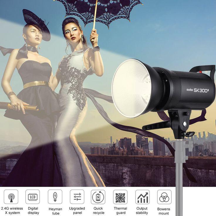 Godox SK300II Professional Compact 300Ws Studio Sales Online eu - Tomtop.com