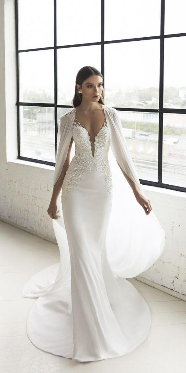 f7635cdf8365 30 Wedding Dresses 2019 — Trends & Top Designers | Wedding Dresses 2019 | Wedding  dresses, Designer wedding gowns, Wedding dress accessories