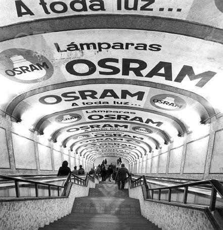 El Metro de Madrid en los años 70.