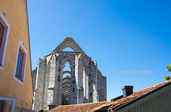 Gotland, Visby, Sweden, ruin, Santa Karin, church, ann-kristina al-zalimi