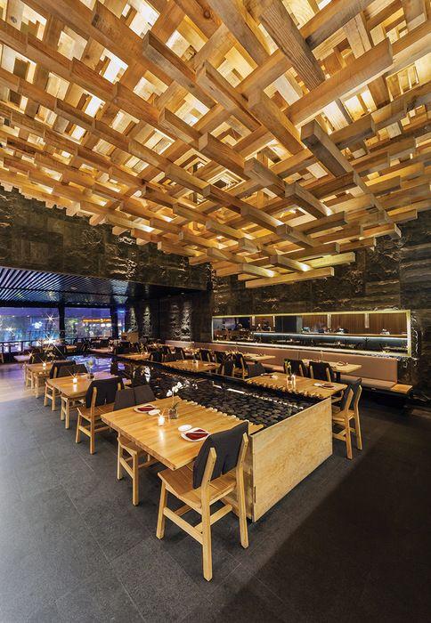 Restaurant and Bar Design Awards. Kiga, Mexico by CheremSerrano and Braverman Arquitectos