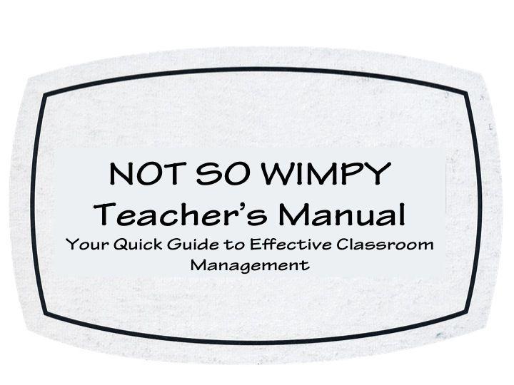 A Not So Wimpy Teacher's Behavior Management Manual: Management Manual, Wimpy Teachers, Positive Behavior, Behavior Support, Teachers Behavior, Behavior Plans, Behavior Management, Classroom Management, Teachers Manual