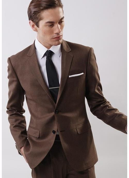 This Brown Tux Will Make A Great Impression At Your 2017 Prom