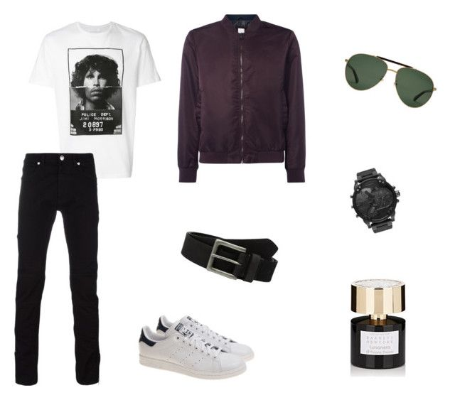 jim by hilalozkan on Polyvore featuring Neil Barrett, Versace, adidas, Diesel, Gucci, Timberland, Tiziana Terenzi, men's fashion and menswear