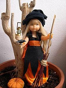 Déguisement halloween pour poupée