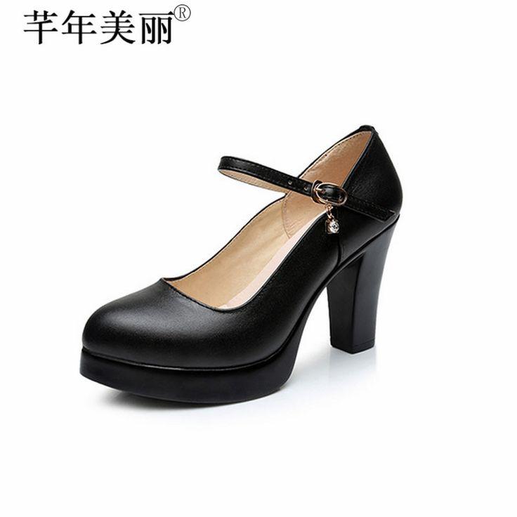 Chaussures pour Femmes Fashion Blanc Doux Mot Plate-Forme de Boucle de Talons Hauts Fait caler,40,White