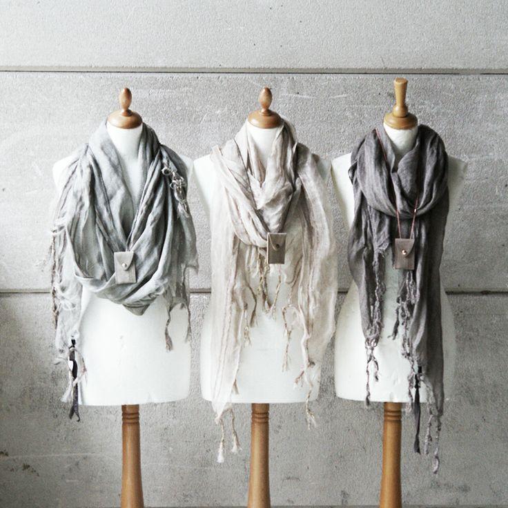 Zusss | Onze hamam sjaals in de kleuren grijs, zand en taupe.