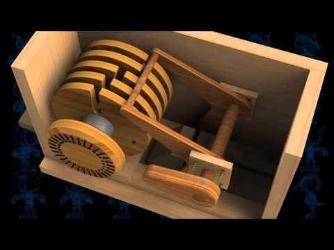 Safe Lock Mechanism Wooden Toy 3D Model - YouTube