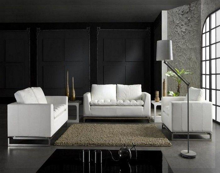 Italienischen Wohnzimmer Ideen Leder Wohnzimmer Sitzgruppe Ledersofa