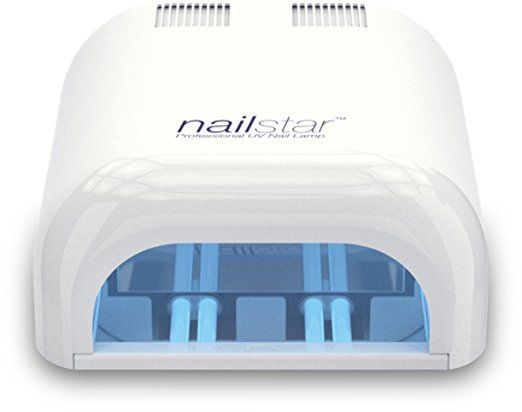 NailStarTM Professional Lampada UV Asciuga Smalto (36 Watt) con Timer da 120 e 180 Secondi per metodi curativi Shellac e Gel. Include 4 x Lampadine da 9W  SCONTO 65% Valido soltanto per il 18 Novembre 2016