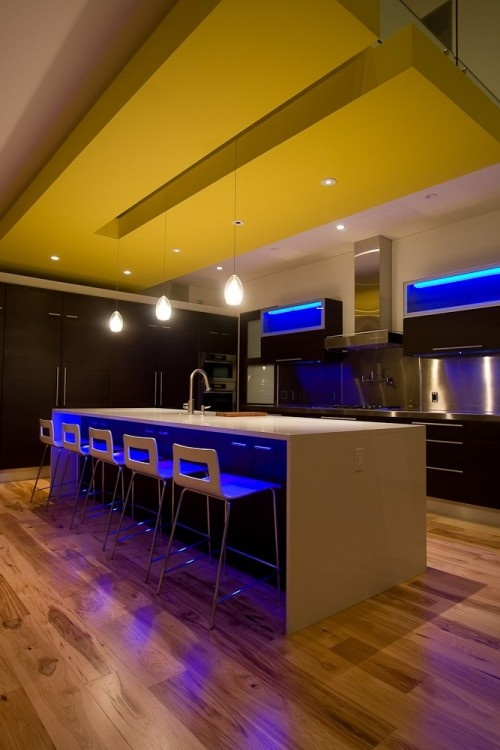 Pigeon creek residence in zeeland mi by lucid with accent lighting