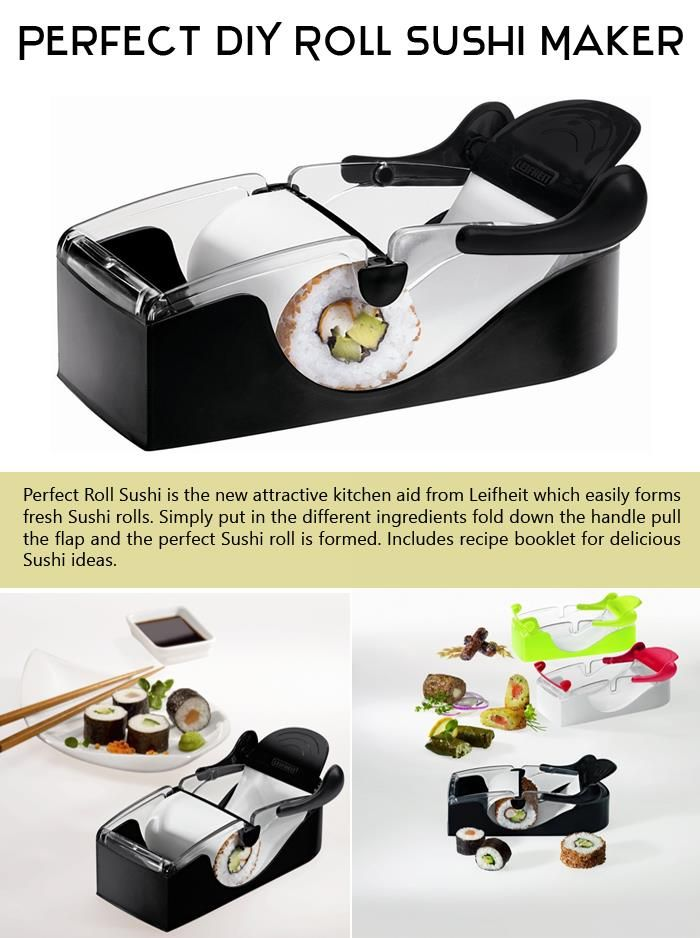 Perfect DIY Roll Sushi Maker