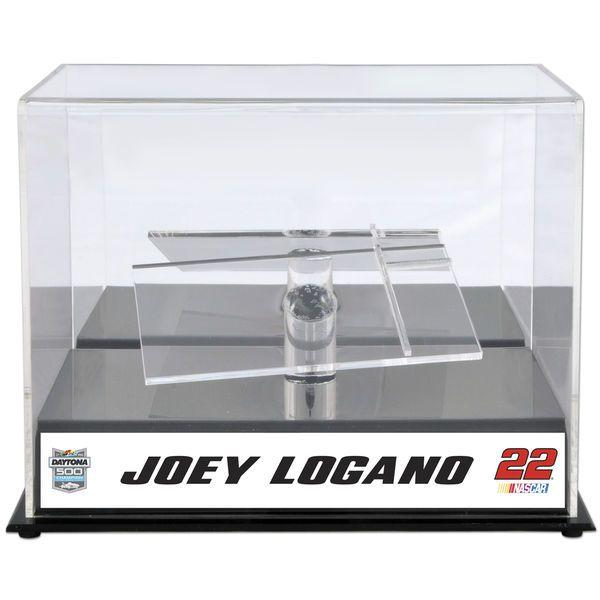 Joey Logano Fanatics Authentic 2015 Daytona 500 Champion 1:24 Die-Cast Display Case w/Sublimated Plate - $49.99