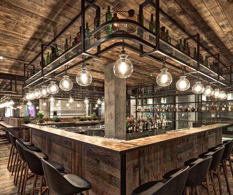 mercato neri mixes warmth and industrial chic in chef jean georges second shanghai restaurant writes luo rustic restaurant designrestaurant ideasbamboo