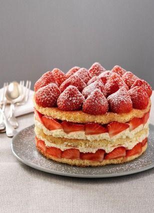Recette classique : le #fraisier