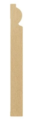 Skirting board profile - Torus