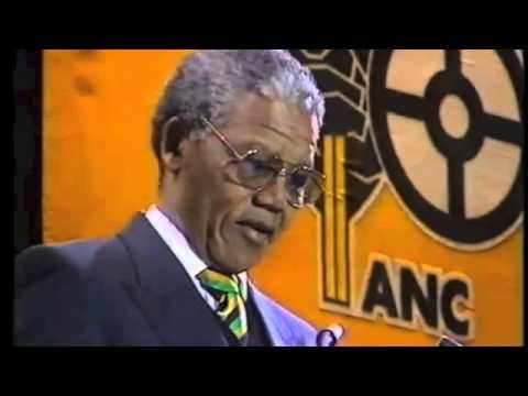 Watch the speech Nelson Mandela gave upon his release from prison
