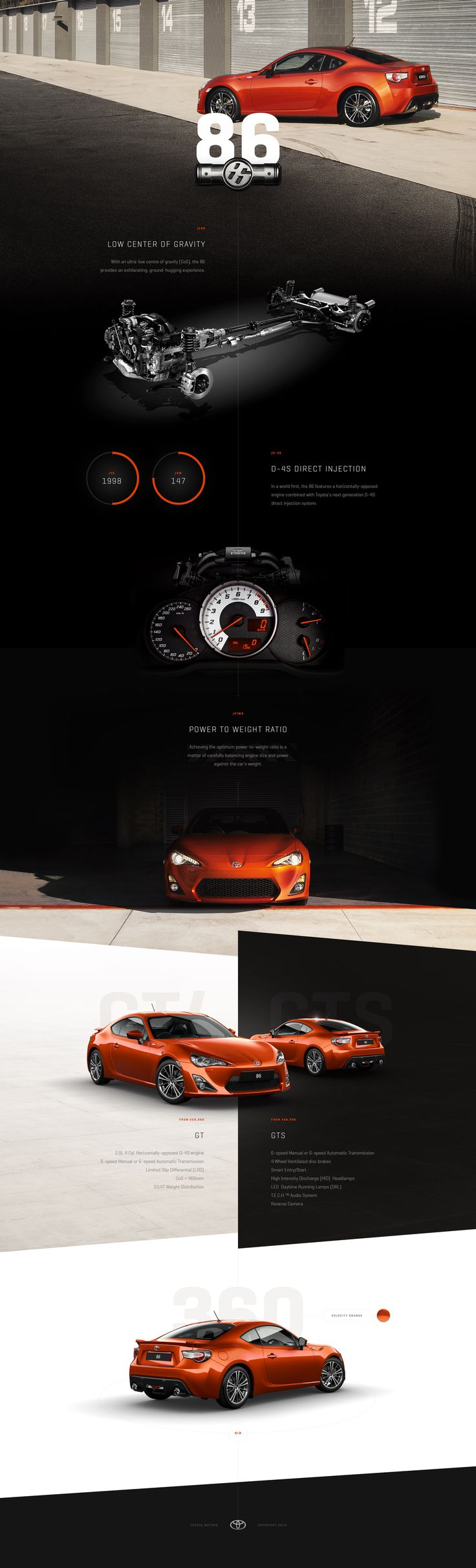 Toyota 86   Twofold Graphic & Web Design. #web #design