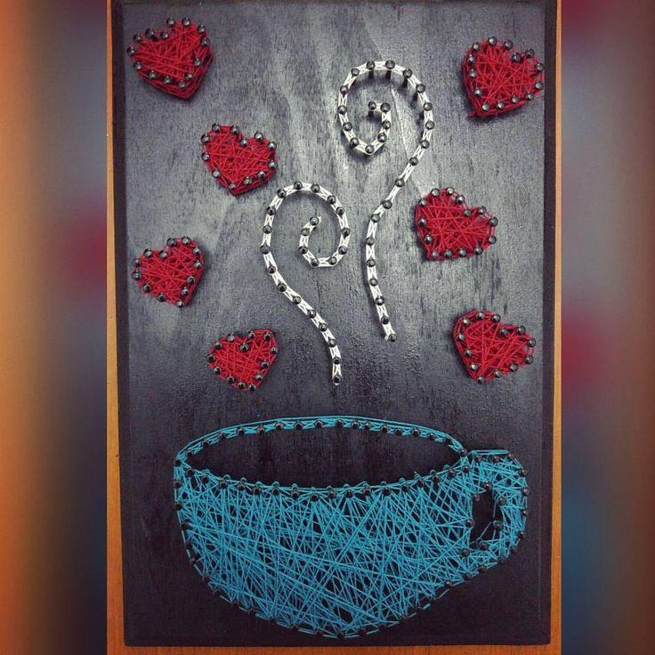 Best 25+ Nail String Art Ideas On Pinterest