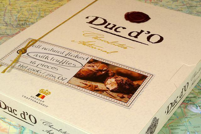 Duc d'O Milk Chocolate Truffles | Flickr - Photo Sharing!
