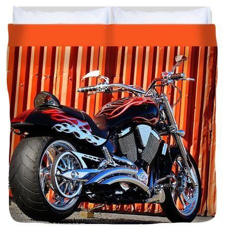Nz Custom Bike - Duvet Cover
