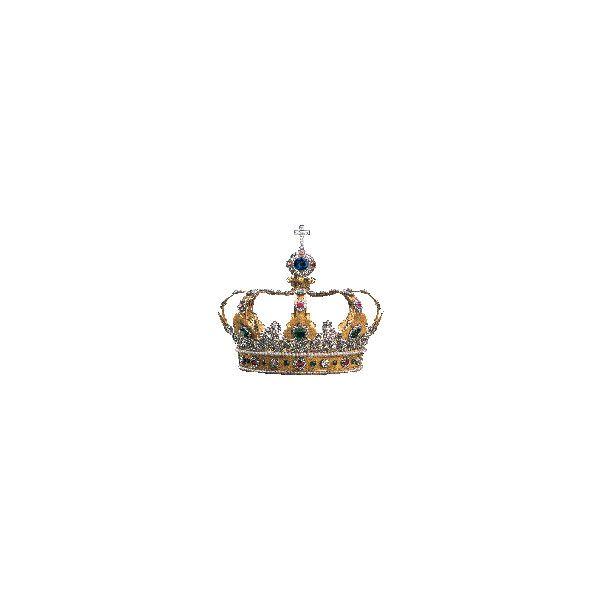 Bayerische Schlösserverwaltung | Castello di Neuschwanstein | Pagine... ❤ liked on Polyvore featuring accessories, hats, crowns, tiaras, jewelry, crown hat and castello