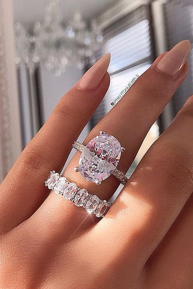 42 Wedding Ring Sets That Make The Perfect Pair Dream Engagement Rings Wedding Ring Sets Wedding Rings Solitaire