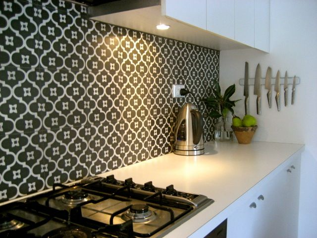 Moroccan Splash Back Ideas For Contemporary Kitchens Kitchen Pinterest Colors