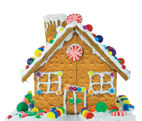 Gingerbread House How To Ideas and Frosting #Recipe
