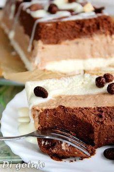 Di gotuje: Trójczekoladowe ciasto z serka mascarpone (Trójcze...
